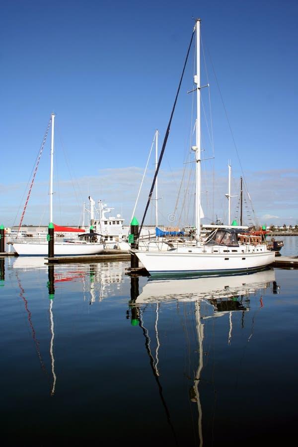 Crogioli di vela, Melbourne, Australia fotografie stock libere da diritti