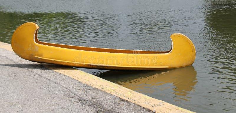 Crogiolo di canoa fotografia stock