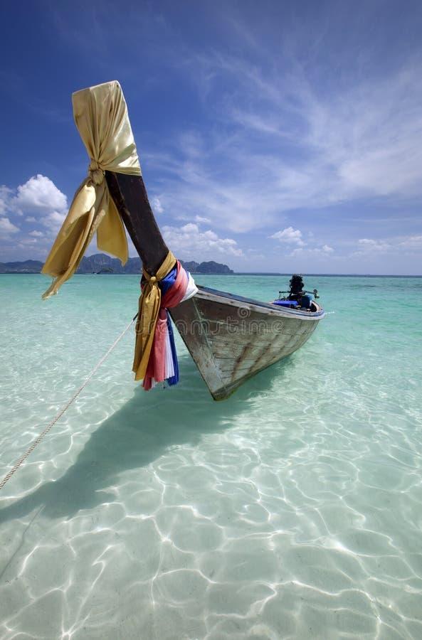 Crogiolo di coda lunga in Tailandia fotografia stock libera da diritti