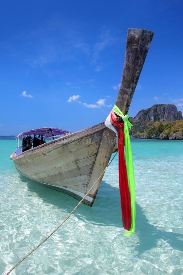 Crogiolo di coda lunga in Tailandia immagini stock