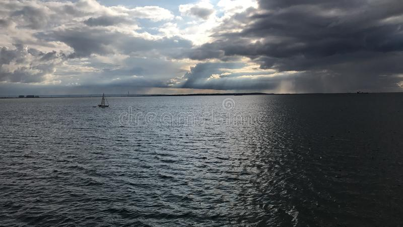 Crogiolo di pilastro del Southend-su-mare fotografia stock