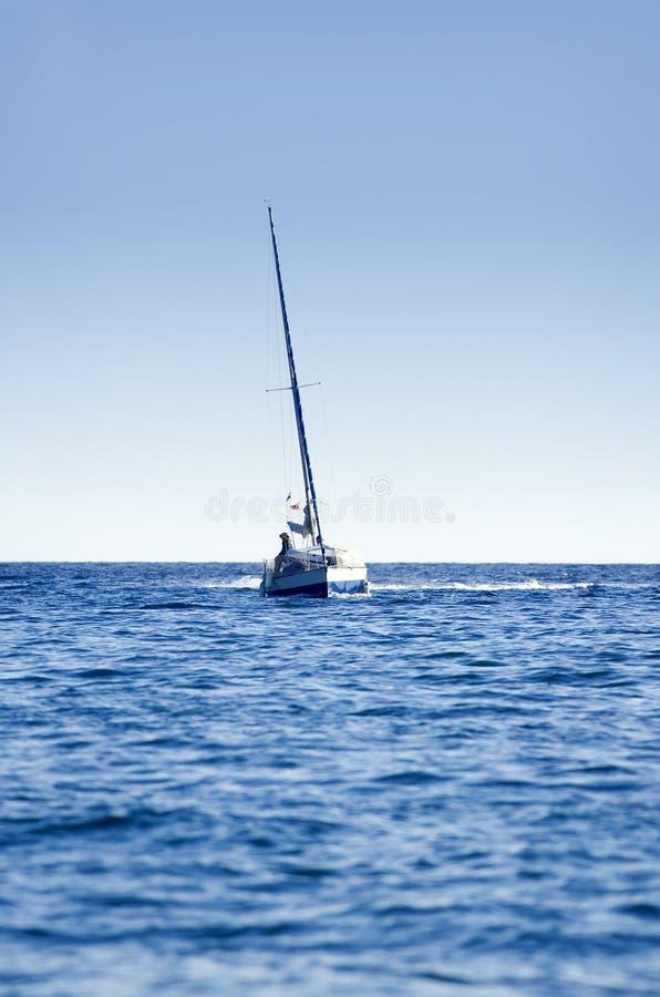 Crogiolo di vela fotografia stock libera da diritti
