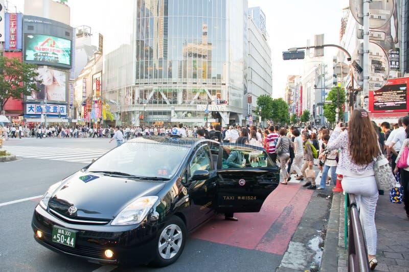 Croisement de Shibuya, Tokyo photo libre de droits