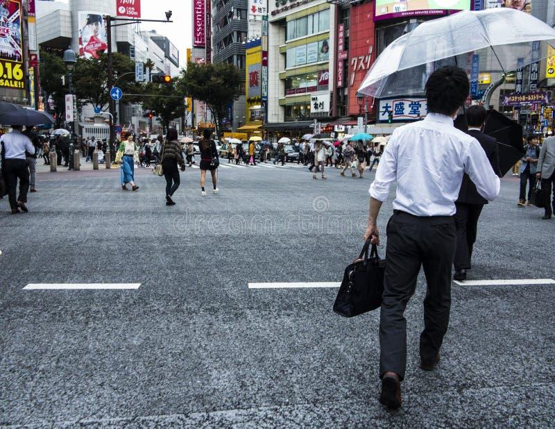 Croisement de station de Shibuya photo stock