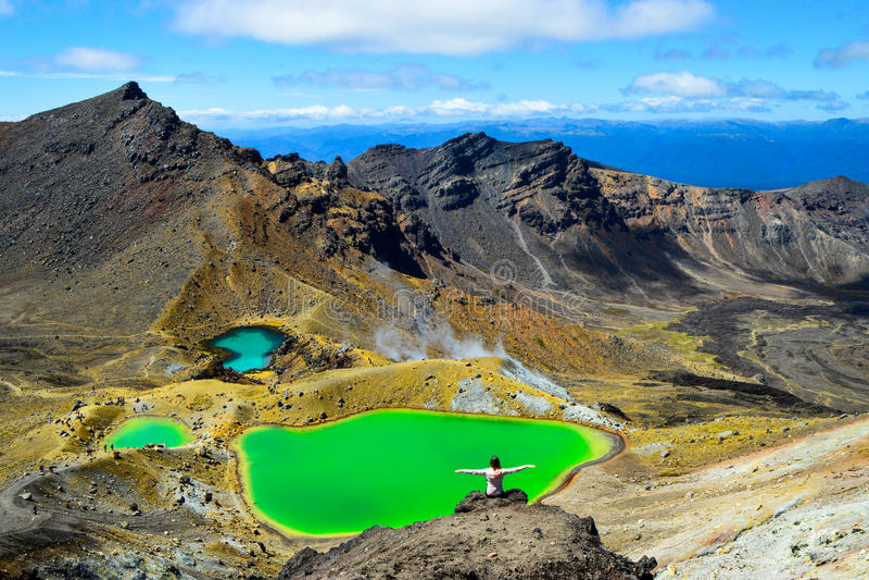 Croisement de Tongariro photographie stock