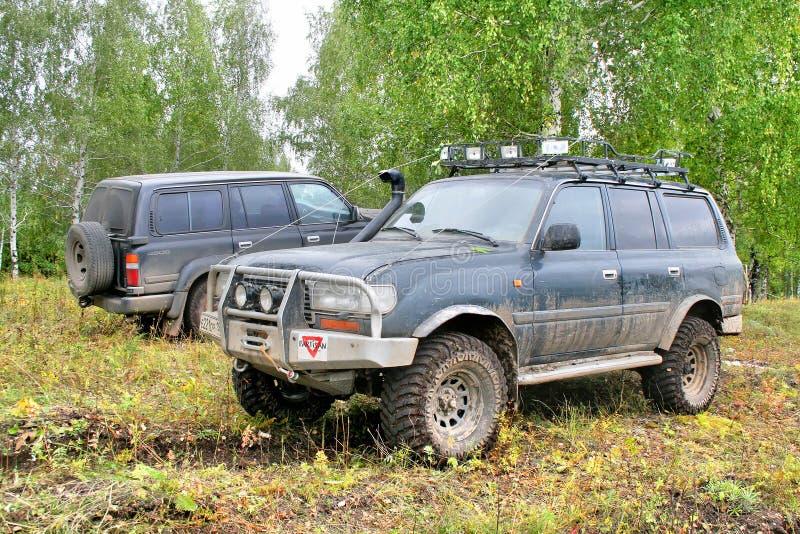 Croiseur 80 de terre de Toyota images stock