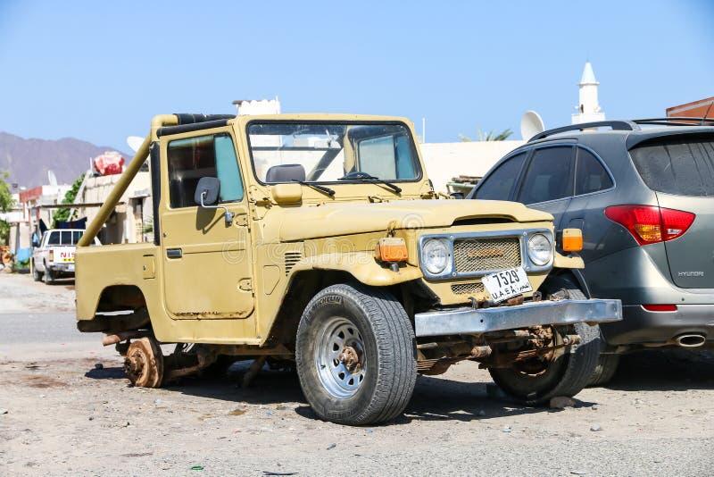 Croiseur 40 de terre de Toyota images libres de droits