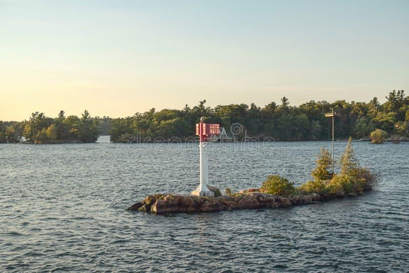 Croisière autour des 1000 îles photographie stock
