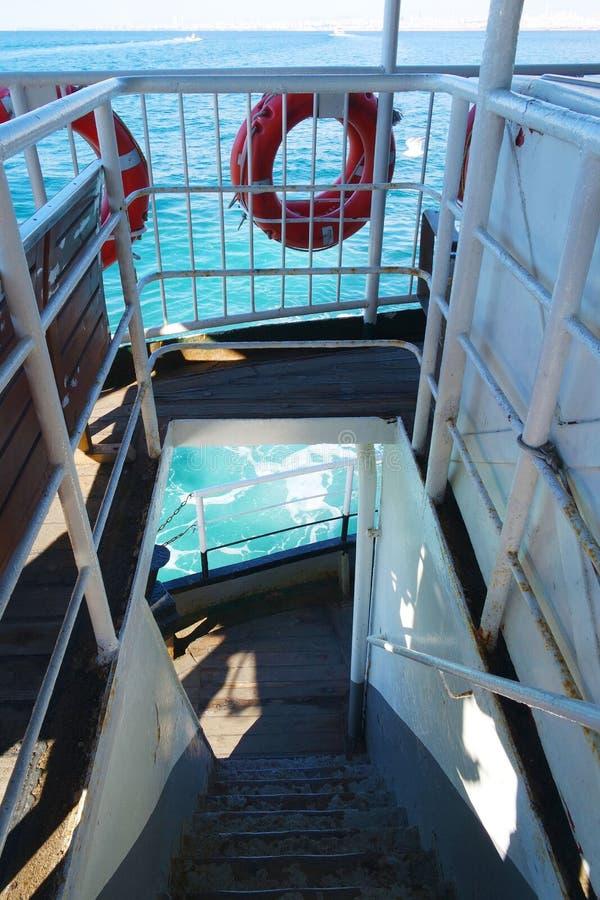 Croisière de bateau photographie stock libre de droits