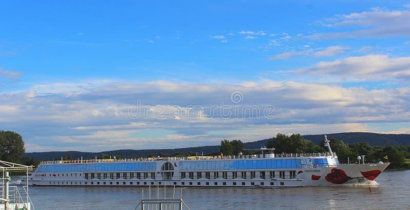 Croisière de Danube, Slovaquie, Europe centrale photographie stock libre de droits