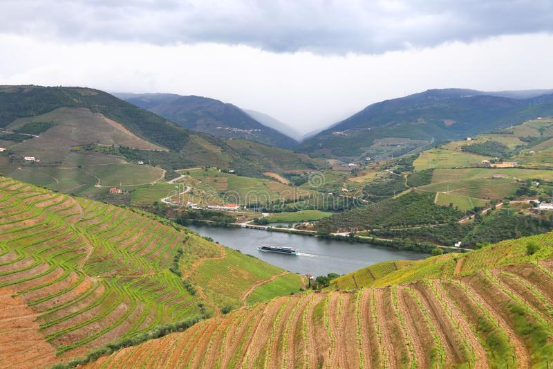 Croisière de rivière de Douro images libres de droits