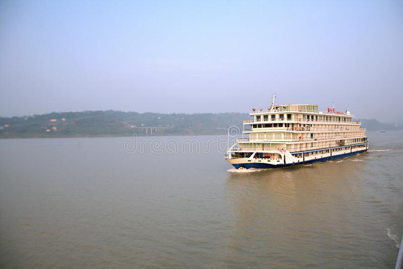 Croisières du fleuve Yangtze photographie stock libre de droits