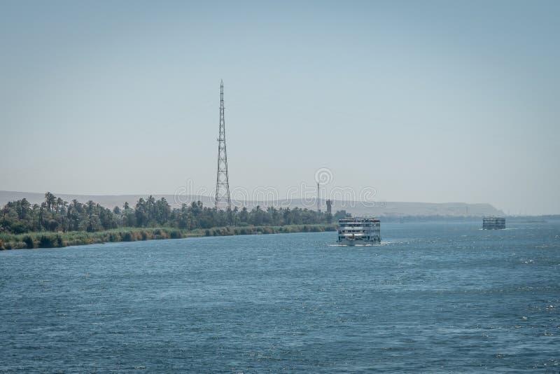 Croisi?res du Nil ?gypte images stock