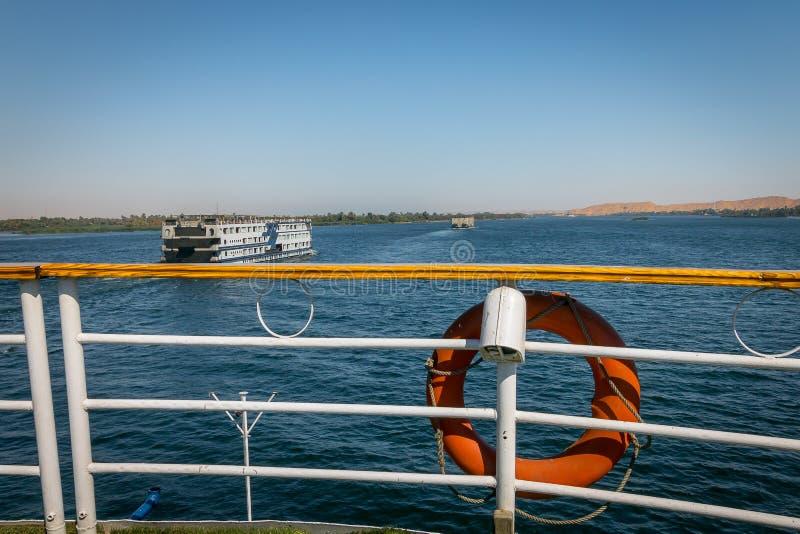 Croisi?res sur le Nil ?gypte Avril 2019 image stock