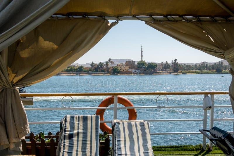 Croisi?res sur le Nil ?gypte Avril 2019 photo stock