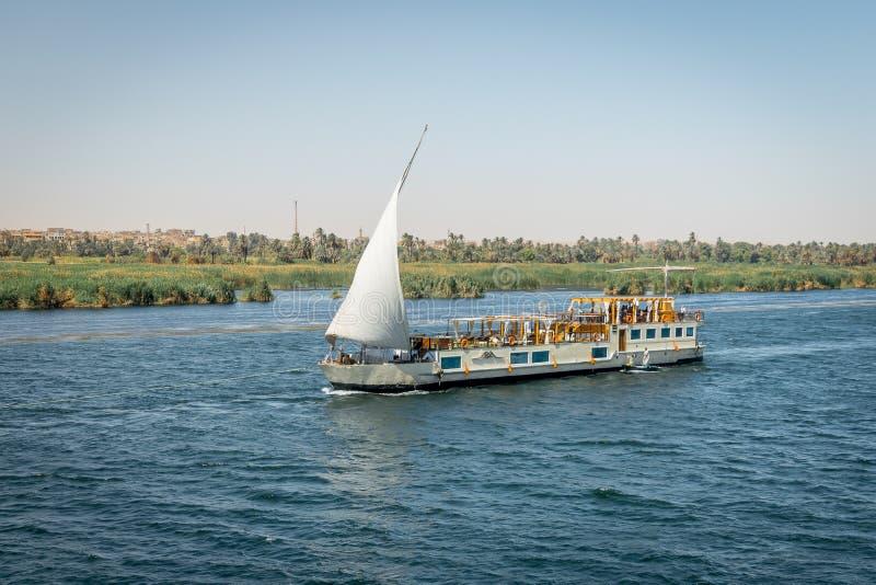 Croisi?res sur le Nil ?gypte Avril 2019 images libres de droits