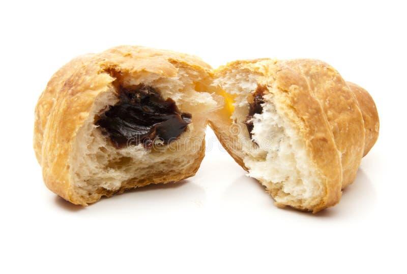 croissant αποκοπή ανοικτή στοκ φωτογραφία
