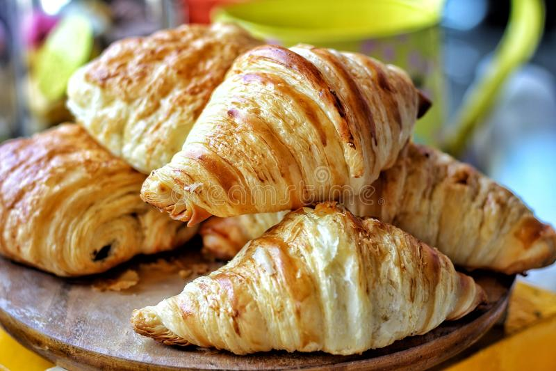 croissant φρέσκος στοκ φωτογραφία με δικαίωμα ελεύθερης χρήσης