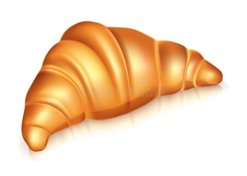 Croissant illustrazione vettoriale