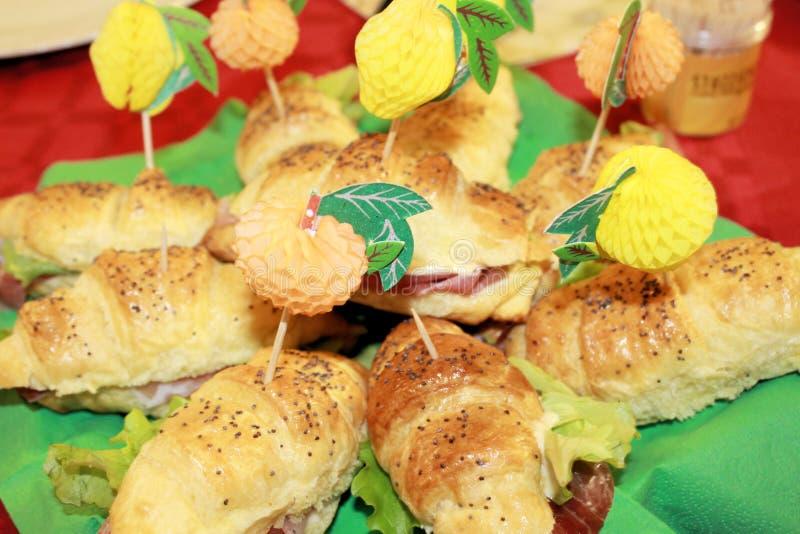 Croissant zdjęcie royalty free