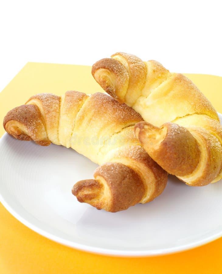 Download Croissant photo stock. Image du isolement, cuisine, pain - 87701182