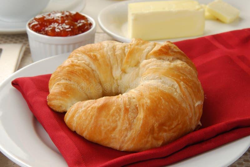 Download Croissant amanteigado foto de stock. Imagem de alperce - 16850256