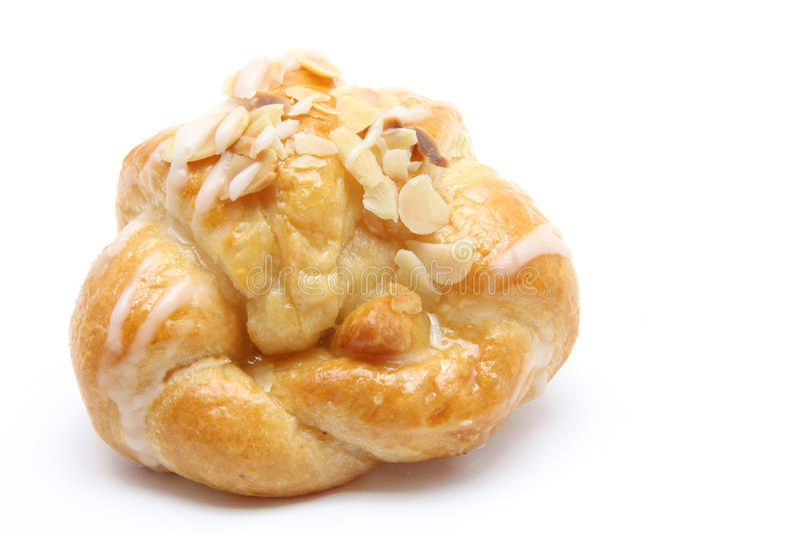 Croissant della mandorla fotografie stock libere da diritti