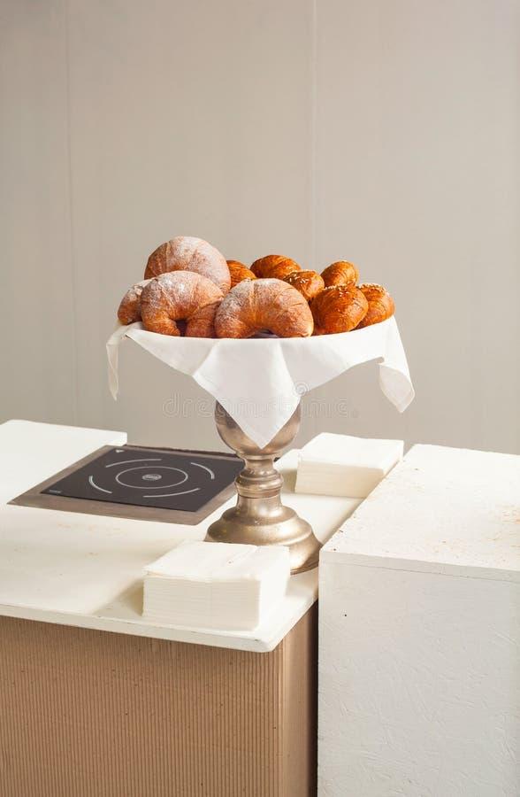 Croissant italianos fotos de stock