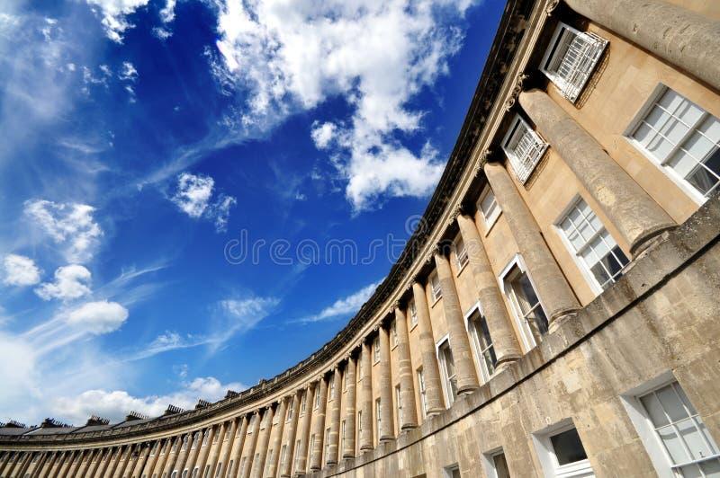 Croissant royal de Bath photographie stock libre de droits