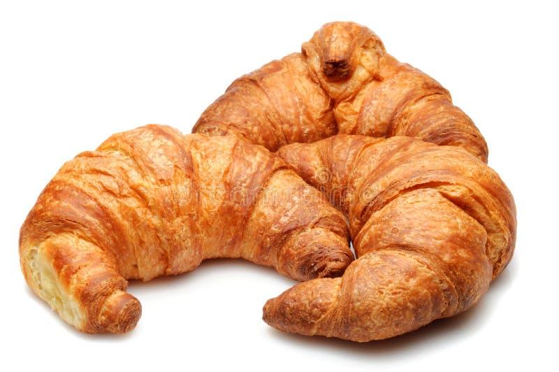 croissants απομονωμένος στοκ φωτογραφία με δικαίωμα ελεύθερης χρήσης