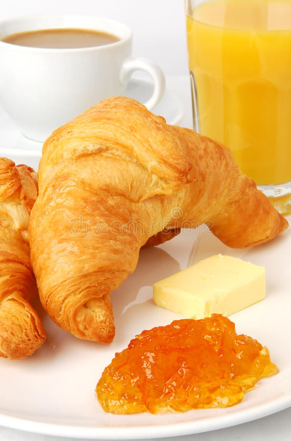 Download Croissants stock image. Image of food, served, juice - 10932543