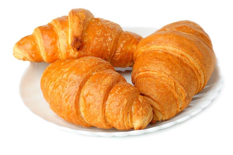 Croissants fotografía de archivo libre de regalías