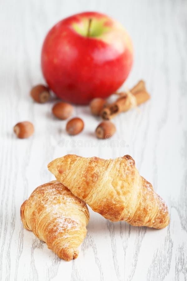 Croissants imagenes de archivo