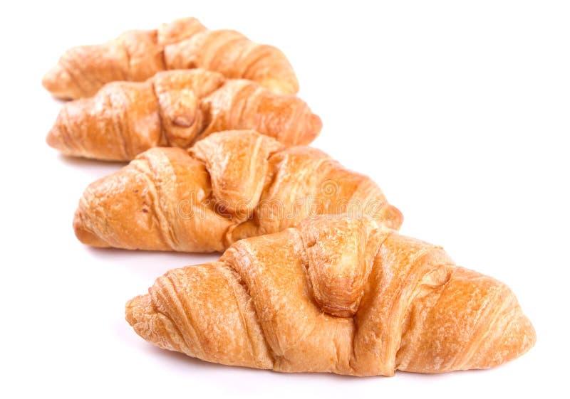 Croissants fotografia royalty free
