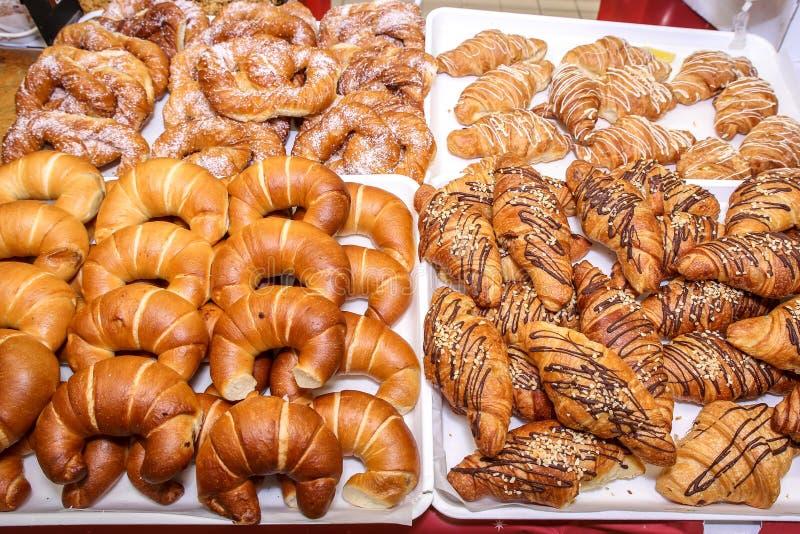Croissants στοκ φωτογραφία