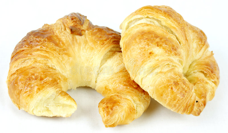Croissants photo stock