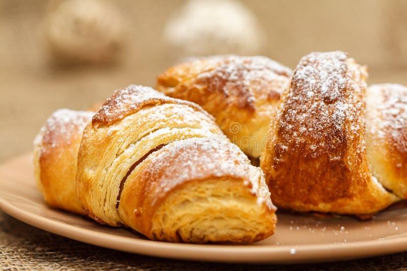 Croissants stock fotografie