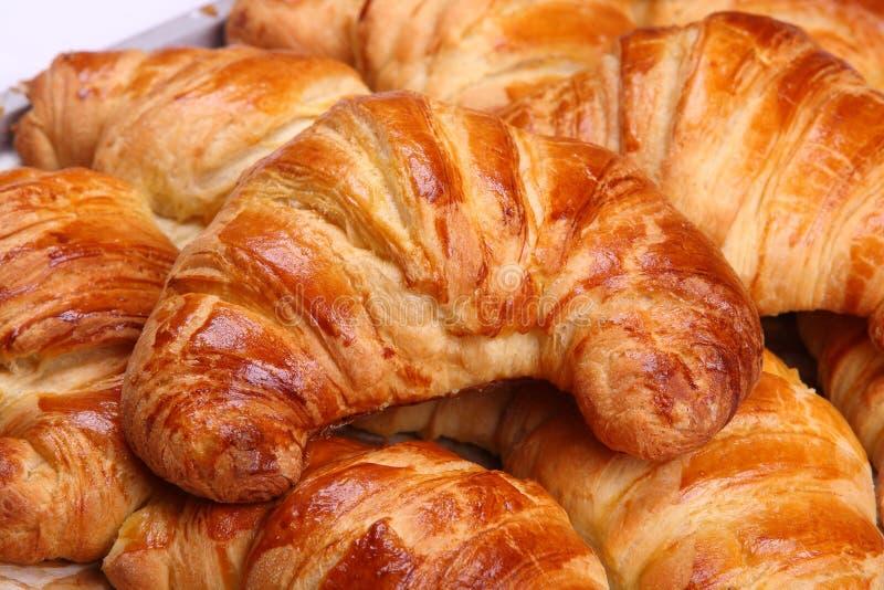 Croissants appétissants photo stock