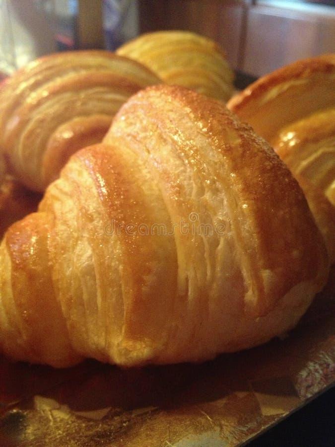 croissants domowej roboty obrazy stock