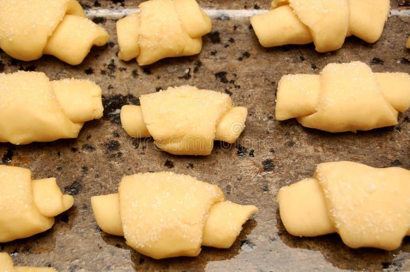 croissants domowej roboty fotografia royalty free