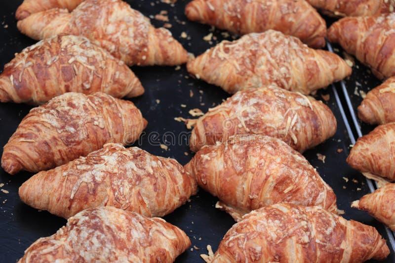 Croissants faits frais photo stock