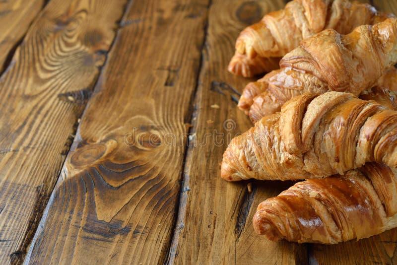 Croissants francesi fotografia stock