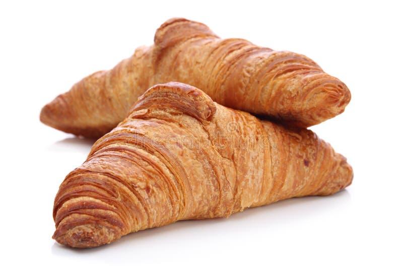 Croissants, tradycyjny Francuski ciasto zdjęcia stock