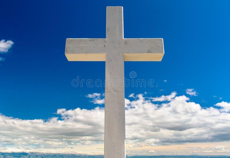 Croix à l'extérieur photos libres de droits