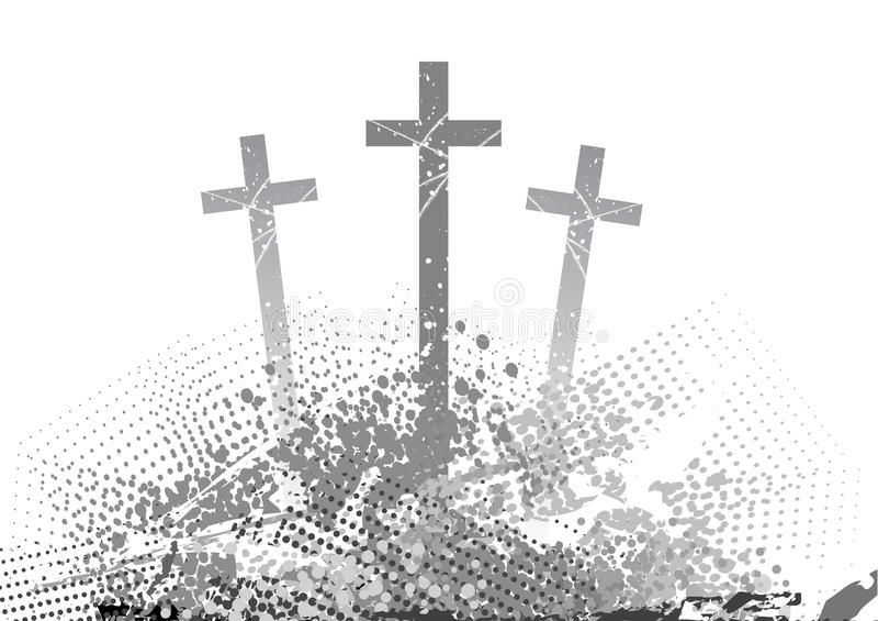Croix illustration stock