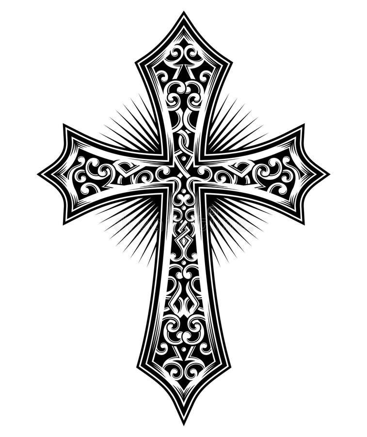 Croix illustration libre de droits