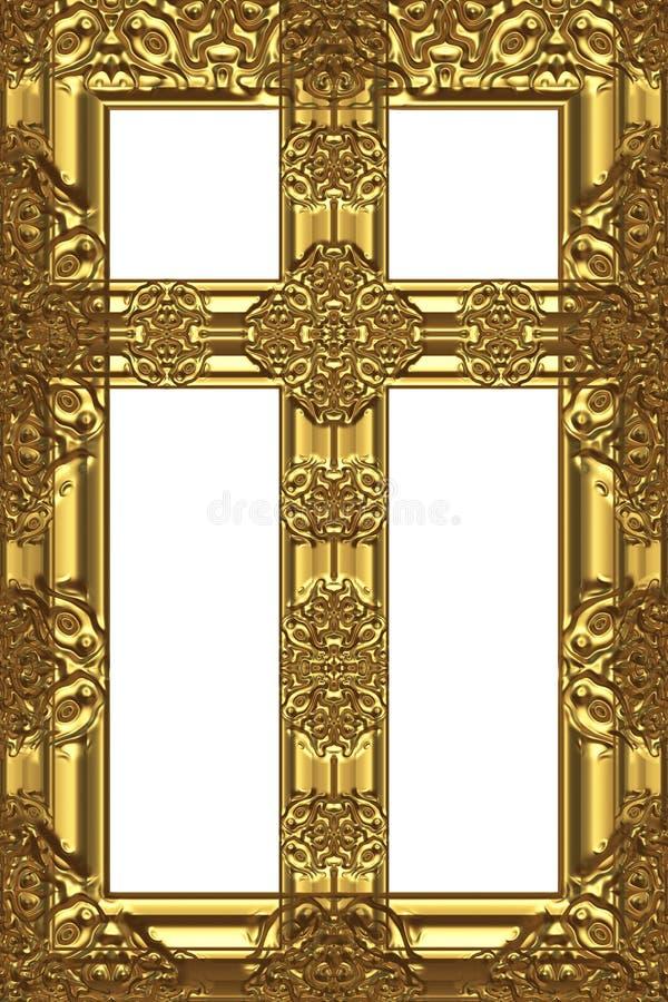 croix antique illustration stock
