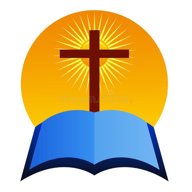 Croix avec la bible