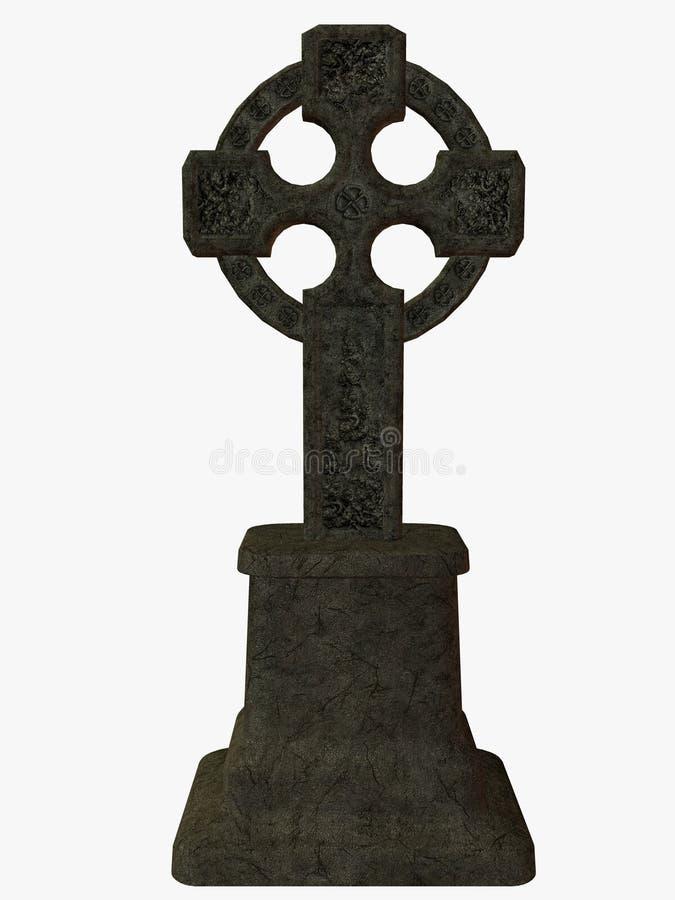 Croix celtique illustration stock