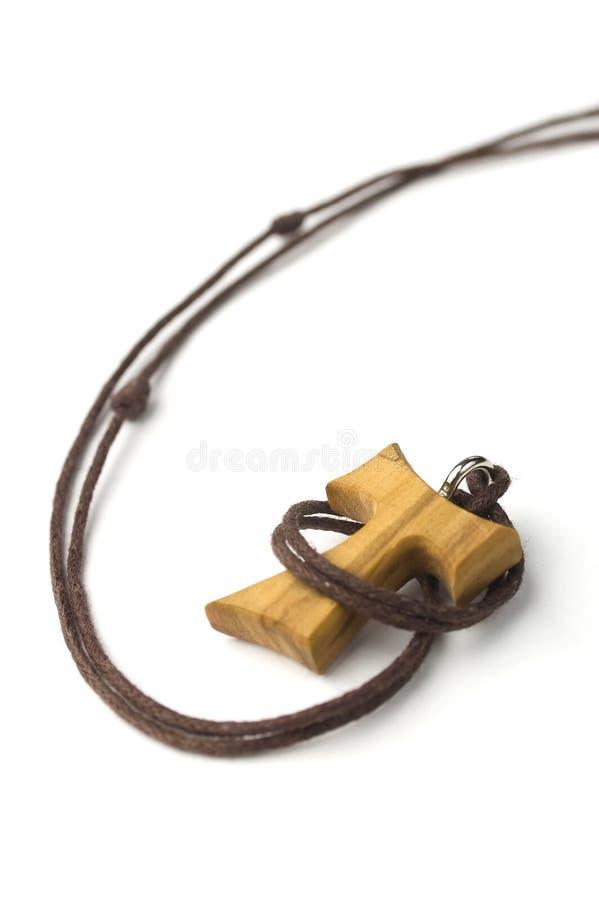 Croix chrétienne de Tao d'isolement images libres de droits